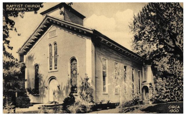 Matawan First Baptist - Circa 1900